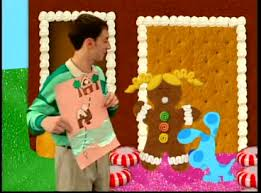 Blues clues gingerbread boy Pink Using Maps To Guide Our Travels We Play Blues Clues To Figure Out Where Blue Wants To Go Fandom Blues Clues Bundle