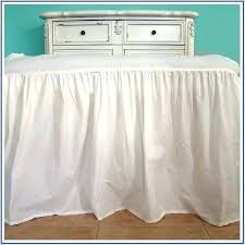 extra long bed skirt. Wonderful Extra Extra Long Bed Skirt  Skirts For Raised Beds On C