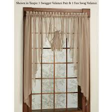 Red Swag Kitchen Curtains Swag Curtains For Sale
