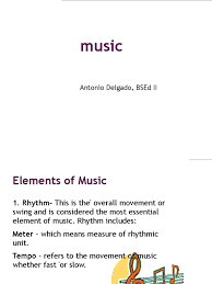 7 elements of rhythm in music. Elements Of Music Tempo Singing