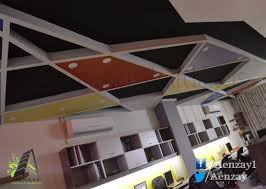 ceiling design for office. Commercial Interior Aenzay Interiors, Design, Design Lahore, Ceiling For Office L