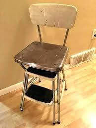 cosco retro step stool stool step stool vintage step stool kitchen stool mid century step stool