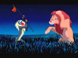 Rafiki Quotes Gorgeous Lion King What Did You Do That For The Past Can Hurt YouTube