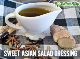 Sweet asian salad dressing