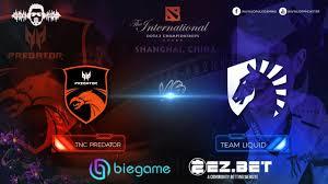 Tnc Design Tnc Predator Vs Liquid Game 2 Group Stage The International 9