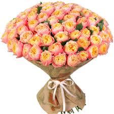 <b>Букеты пионовидных роз</b> - Купить красивые розы в Москве