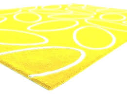 main image of rug yellow circle small rounds outdoor botanical area