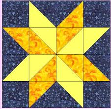 Missouri Quilt Block Patterns | For the hunter star block you will ... & Missouri Quilt Block Patterns | For the hunter star block you will need two  contrasting star Adamdwight.com