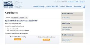 A good to excellent credit score of 670 or higher can provide better odds of approval, not to mention lower aprs and. Navy Federal Credit Union S Amazing Cd Deal Bankrate Com