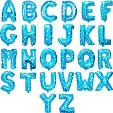 16inch A Z font b Letter b font Blue font b PINK b font Foil font