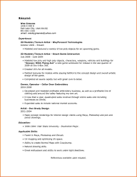 Artist Resume Sample 100 100d Artist Resume Sample Fitted Meowings 72