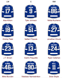 the lightning tampa bay lightning lines