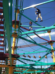 moody gardens new ropes course and zip line opened this weekend have you had a chance to check it out