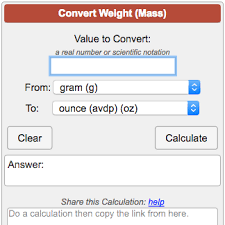 Lbs To Grams Conversion Chart Weight Mass Conversion Calculator