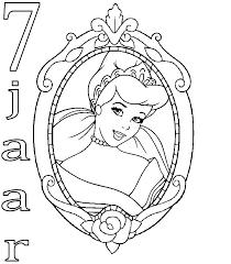 Kleurplaten En Zo Kleurplaten Van Prinsessen Verjaardag