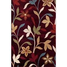 this review is from modern contemporary leaves design burdy 3 ft x 5 ft indoor area rug