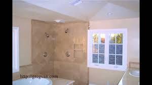 window location wood trim and shower tile design problems bathroom remodeling planning you