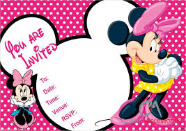 mickey and minnie invitation templates 23 minnie mouse birthday invitation templates free sample