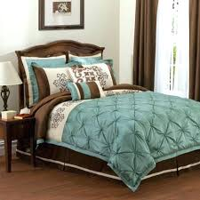spectacular inspiration brown and turquoise bedding sets lush decor queen comforter set king chocolate bed sheets