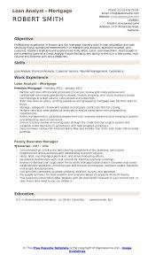 Credit Analyst Resume Loan Analyst Resume Samples Qwikresume