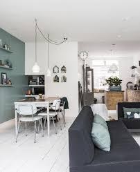 Zwart Wit Mintgroen Woonkamer Inspirerende Pumpink Lounge Groen Wit