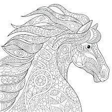 Horse Coloring Pages Free Printable Gypsy Coloring Pages Mustang