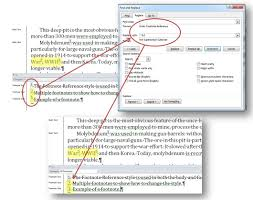Ms Word Different Footnote Reference Styles In Text Vs In Footnote