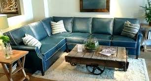 navy blue sectional sofa. Navy Sectional Luxury Blue Leather Sofa Adorable . V