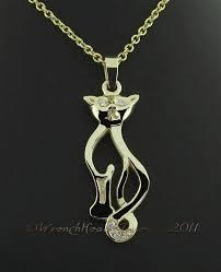 gold cat jewelry