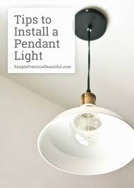 how to replace a hanging ceiling light fixture