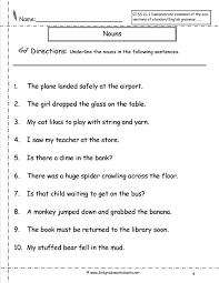 nouns worksheets and printouts noun 4th grade n : polskidzien