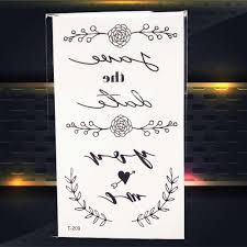 летний стиль пляж тату стикеры кемпинг мультфильм призрак якорь английский тату