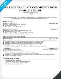 Recent College Graduate Resume Cool Resume For Recent College Graduate With No Experience Keni