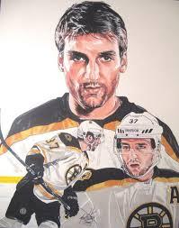 """""""<b>Patrice Bergeron</b> Boston Bruins"""" Zeichnung als Poster und Kunstdruck von <b>...</b> - bergeron"""