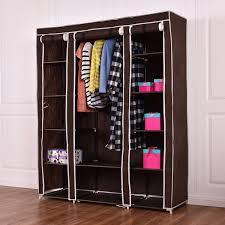 closet shelf shoe organizer costway 70x27x27 portable closet storage organizer clothes wardrobe shoe whitmor closet 6 closet shelf