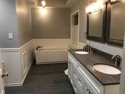 i thought about adding airy curtains from the ceiling to frame the tub but i don t want to block the beautiful window on the right wall