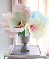 diy giant paper room decor giant paper flower decorations images pap on compact diy giant wall