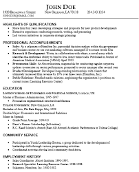resume highlighting skills