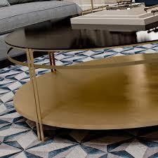 contemporary italian round coffee table