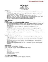 Resume Sample Nurse Amazing Certified Nursing Assistant Resume ...