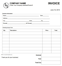 Free Plumbing Invoice Template 100 best Free Plumbing Invoice Templates images on Pinterest Free 3