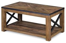 cocktail table with frame