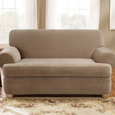 garage breathtaking two cushion sofa slipcover 29 sy living room conceptwith slipcovers sure fit stretch pique