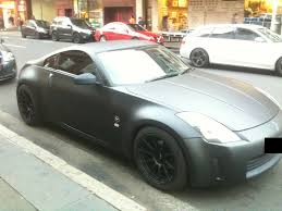 nissan 350z matte black. Simple Matte Matte Black Nissan 350Z Spotted By NissanGTRFan  On 350z 3
