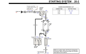 ford expedition diagram l efi vin w starter terminal graphic