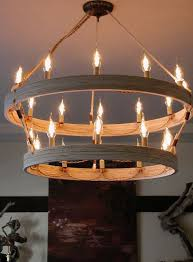 amazing diy rustic chandelier 34 beautiful d i y idea that will light up your home double ringer