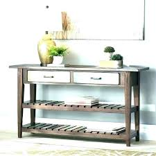 sofa table with storage. Behind Couch Table Small Console With Storage Sofa . D