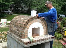 build wood fired pizza oven the family wood fired brick pizza oven in south ovens homemade