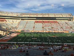 Texas Dkr Memorial Stadium Seating Chart Dkr Texas Memorial Stadium Section 6 Rateyourseats Com