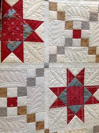 Free Motion Quilting Designs For Log Cabin Quilted By Renee Sauve Of Log Cabin Quilter Machine